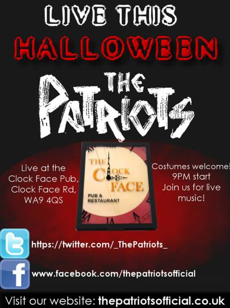 Patriots Halloween